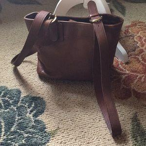 Vintage waverly coach bag 4157